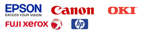 EPSON,CANON,XEROX,OKI,HP